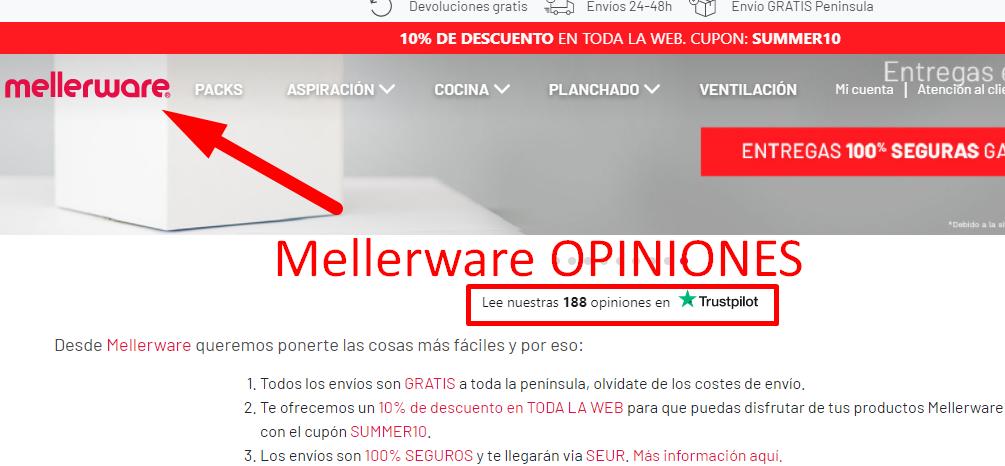 Mellerware opiniones