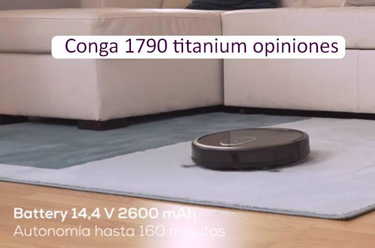 conga 1790 titanium opiniones y comentarios