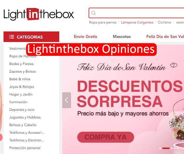 Lightinthebox Opiniones